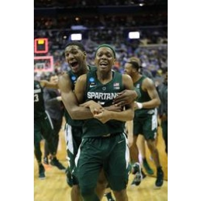Aaron Henry Michigan State Spartans Final Four Basketball Jersey - Green