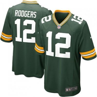 Aaron Rodgers Green Bay Packers Game Jersey Camo