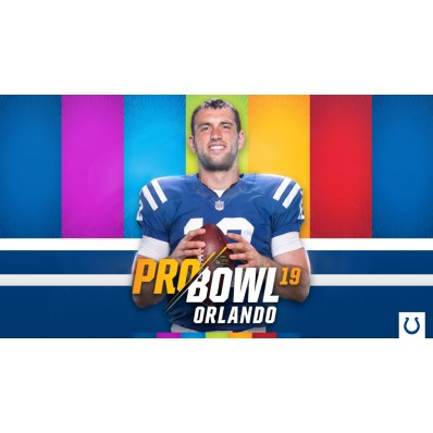Andrew Luck Indianapolis Colts AFC Pro Bowl Game Jersey