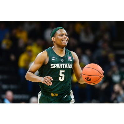 Cassius Winston Michigan State Spartans Final Four Basketball Jersey - White