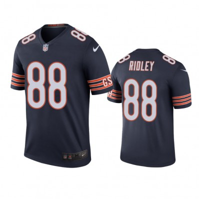 Chicago Bears #88 Riley Ridley Draft Game Jersey - Navy
