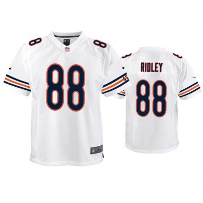 Chicago Bears #88 Riley Ridley Draft Game Jersey - White