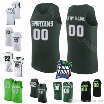 Kyle Ahrens Michigan State Spartans Final Four Basketball Jersey - White