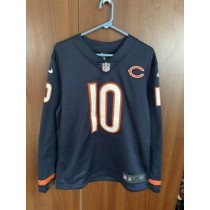 Mitchell Trubisky Chicago Bears Therma Long Sleeve Jersey